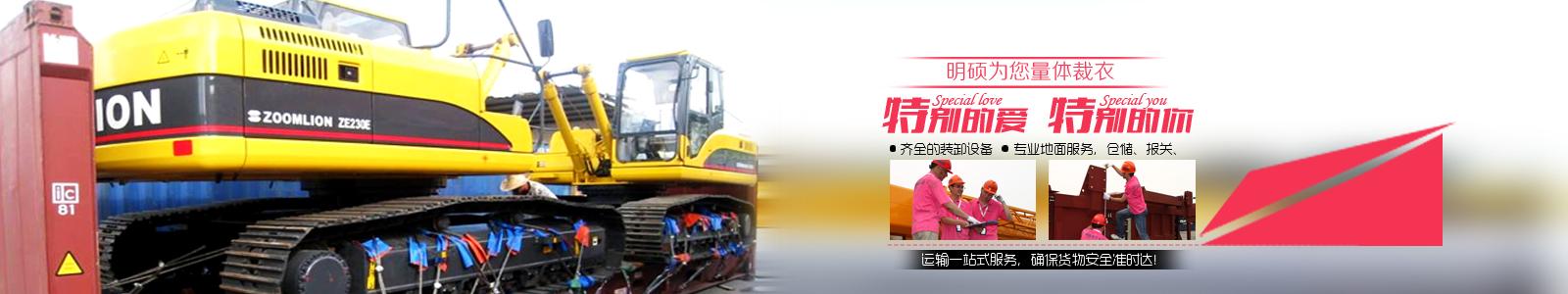 中国重大件国际物流领航者